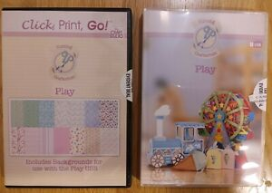 "Cutting Craftorium ""Play"" USB and backgrounds CD-ROM"