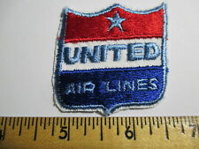 United Airlines Patch Airplane NOS Vintage Original  2 x 2 INCHES