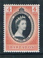 Mint Never Hinged/MNH Royalty Barbadian Stamps (Pre-1966)