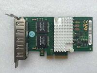 Fujitsu PRO/1000 PT Quad Port Gigabit Network Card PCI-E D2745-A11 low profile