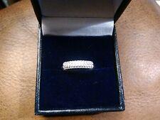 Silver 925 Ring Size M New Beautiful Elegant Zirconia Sterling