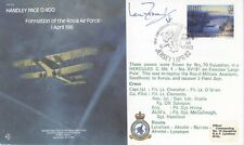 RAF B4 Handley Page 0/400 cover 1982 SIGNED Ian Fraser VC