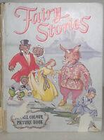 Libro Niñas Dibujado En Inglés Fairy Stories Ward Lock London Y Melbourne