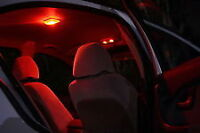AU LED Interior Conversion Kit in Bright Red Ford Falcon XR6 XR8 FPV XT