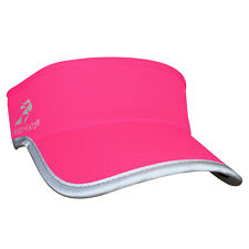 New Headsweats Supervisor Reflective High Visibility Neon Pink Running Cap Visor