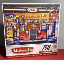 "Master Pieces / Wheels 'At Your Service' Linda Berman 750 Piece Puzzle 24""x18"""