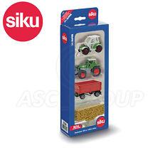SIKU NO.6304 1:87 SIKU GIFT SET - LOADER TRACTOR TRAILER GRAIN Dicast Model Toy