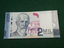 COSTA RICA 2 MILLION COLONES 2009 UNC
