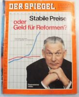 Der Spiegel 19.01.1970 Magazin Stabile Preise oder Geld für Reformen? B9828