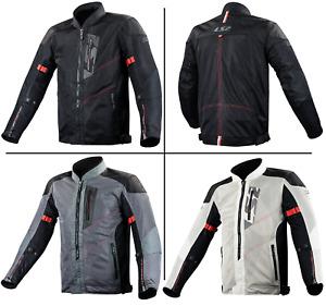 LS2 ALBA Man Motorcycle Motorbike Textile Touring Jacket