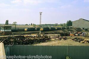British Rail Class 40s withdawn at Crewe 15/08/83 Rail Photo