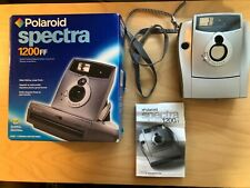 Polaroid Spectra 1200FF Instant Film Camera w/Strap & Manual - Large Print