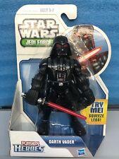"""Playskool Heroes Darth Vader Approx 5"""" Tall Jedi Force Figure. New"""