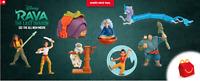 2021 McDONALD'S Disney's Raya and the Last Dragon HAPPY MEAL TOYS Or Set