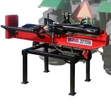 Boss Industrial 3-Point Tractor Mount Horizontal/Vertical Log Splitter (22 To...