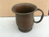 Copper measuring cup lot E170519Y