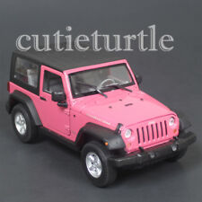 Welly 2007 Jeep Rubicon with Top 1:24 Diecast Model Car 28489 Pink