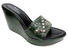 DONALD PLINER Jade Green 'Stima Size 9 1/2 Wedges Size 9.5 Sandals or Shoes