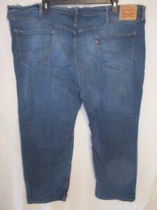 Levi's 559 Cotton Blend 52 x 29 Dark  Rinse Regular  Fit Blue  Jeans
