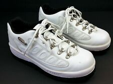 LUGZ Chunky Sole Sneaker Mens 7.5 White Leather Athletic Boot Combo Rubber Sole