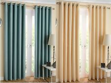 Ideal Textiles Solid Contemporary Curtains & Pelmets