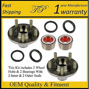 Front Wheel Hub & Bearing Kit FOR SUBARU FORESTER IMPREZA LEGACY OUTBACK (PAIR)