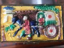 Vintage Chinese cloisonne trinket box Beautiful!
