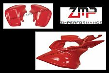 NEW HONDA TRX 450R 04 - 05 FIGHTING RED STANDARD FRONT AND REAR FENDER SET 450R