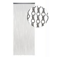 HAB & GUT Türvorhang METALLGLIEDER, SILBER, Metall, 100 x 300 cm