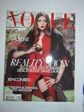Magazine VOGUE PARIS mode French #889 aout 2008 SAINT LAURENT GLAM AU PARADIS