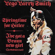 LEGS LARRY SMITH Springtime For Hitler  Import 45 with PicSleeve  BONZO DOG BAND