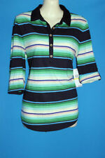 Tommy Hilfiger Striped 100% Cotton Tops for Women