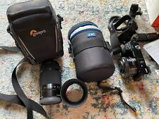 Sony a6000 mirroless camera with kit lens, case, charger and 2 extra batteries