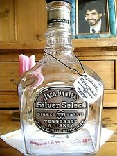 JACK DANIEL'S EMPTY BOTTLE SILVER SELECT~SINGLE BARREL~100 PROOF TENN. WHISKEY