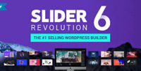 Slider Revolution Responsive WordPress Plugin - Latest Version v6.1.0