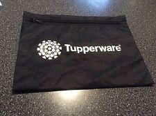 Tupperware Logo Award  Black Zippered  Consultant Money / Order Pouch
