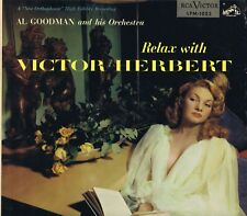 "AL GOODMAN & his Orchestra ""Relax with VICTOR HERBERT"" Vinyl LP-33 Album VG 1954"