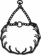 Herm Sprenger Black Stainless Steel Prong Dog Training Collar With Swivel