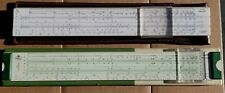 Combo - Faber Castell 52/82 (German) And Logarex 27403-Ii - Slide Rules