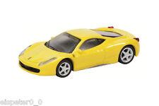 Ferrari 458 ITALIA, amarillo/Art Núm 452011600 , SCHUCO Auto Modelo 1:64