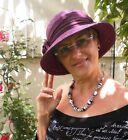 da donna cappello Seeberger PAGLIA NATURALE COLORE A SCELTA Estivo Vacanza