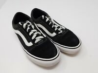 Vans Old Skool Skateboard Classic Black White Mens Womens Sneakers Shoes 7.5 Men