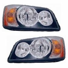 COUNTRY COACH TRIBUTE 2008 2009 SET PAIR HEAD LIGHT FRONT LAMPS HEADLIGHTS RV