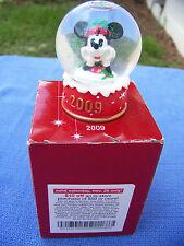 "2009 Jc Penney Disney Snowglobe 2 1/2"" hgt Nib"