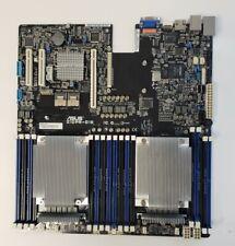 ASUS motherboard Z10PR-D16 Socket 2011-3 w/ 2 x Xeon E5-2620 V3 cpu /1U heatsink