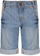 Girls 10-11 Dognose Denim Bermuda Shorts with adjustable waist - BNWT