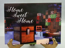 Holiday Card Home Sweet Home Minecraft Mine Chest 5 x 7 New