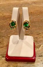 """JOAN RIVERS"" 10 COLOR CHECKERBOARD CUT EARRING WARDROBE GORGEOUS!!!"