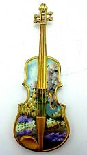 Miniature Display Violin Fancy Colorful Decorative Collectable - NO RESERVE