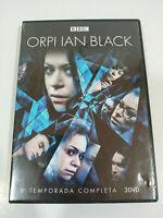 Orphan Black Tercera Temporada 3 Completa Serie TV - 3 x DVD Español Ingles